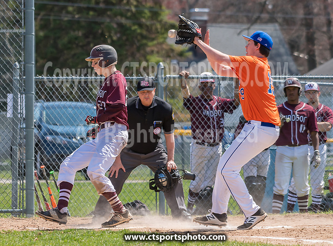 Windsor @ Bloomfield Varsity Baseball 2016-17
