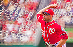 31 May 2014: Washington Nationals pitcher Craig Stammen on the mound against the Texas Rangers at Nationals Park in Washington, DC. The Nationals defeated the Rangers 10-2, notching a second win of their 3-game inter-league series. Mandatory Credit: Ed Wolfstein Photo *** RAW (NEF) Image File Available ***