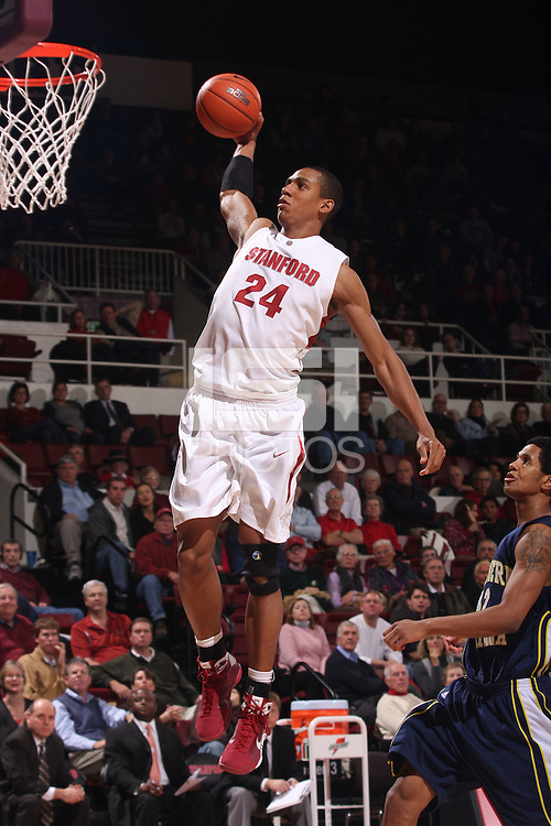 STANFORD, CA - DECEMBER 17:  Josh Owens of the Stanford Cardinal during Stanford's 66-57 win over Northern Arizona on December 17, 2008 at Maples Pavilion in Stanford, California.