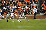 Ole Miss' Nickolas Brassell (2) vs. Auburn at Jordan-Hare Stadium in Auburn, Ala. on Saturday, October 29, 2011. Auburn won 41-23..