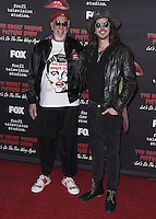 "WEST HOLLYWOOD, CA - OCTOBER 13, 2016:  Lou Adler and Cisco Adler at the red carpet premiere of Fox's ""The Rock Horror Picture Show: Lets Do the Time Warp Again"" at The Roxy on October 13, 2016 in West Hollywood, California. Credit: mpi991/MediaPunch"