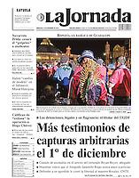 Contraportada, peregrinos acuden a la Basílica de Guadalupe. 11 de diciembre 2012.