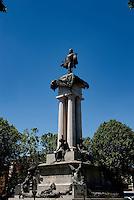 The statue of Vittorio Emanuele II in Turin (Italy, 18/06/2010)