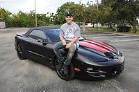 FORT LAUDERDALE, FL - DECEMBER 05: Austin Mahone visits Radio Station Y-100 on December 5, 2016 in Fort Lauderdale, Florida. Credit: mpi04/MediaPunch