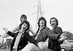 Fleetwood Mac 1968 Mick Fleetwood, Jeremy Spencer, Peter Green, John McVie<br /> &copy; Chris Walter