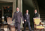 Darren Goldstein, Richard Thomas and Michael McKean during the Broadway Opening Night Curtain Call bows for 'The Little Foxes' at Samuel J. Friedman Theatre on April 19, 2017 in New York City.