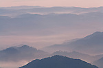 Stacked ridges in morning light, Roan Highlands