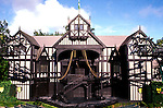 Oregon: Ashland.  Shakespeare Theatre.  Photo #: orrogu103.  Photo copyright Lee Foster, www.fostertravel.com, 510/549-2202, lee@fostertravel.com