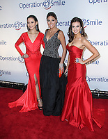 NEW YORK CITY, NY, USA - MAY 01: Elvira Devinamira, Gabriela Isler, Erin Brady at the Operation Smile Event held at Cipriani Wall Street on May 1, 2014 in New York City, New York, United States. (Photo by Jeffery Duran/Celebrity Monitor)