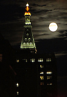 NEW YORK, NY-August 17:  Full Sturgeon Moon in New York. August 17, 2016. Credit:RW/IMediaPunch