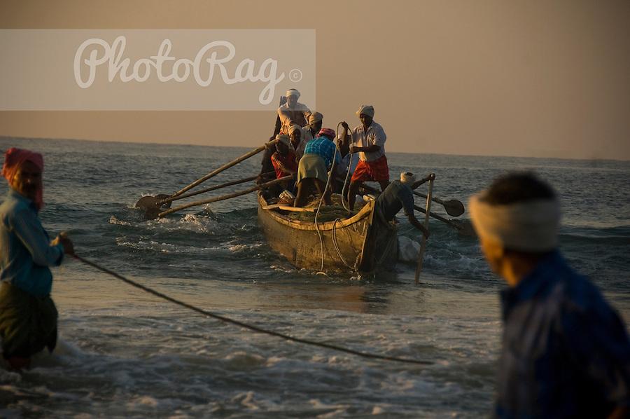 Индия: Производство морской рыбы сократилось