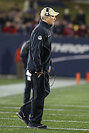 Annapolis, MD - December 27, 2016: Wake Forest Demon Deacons head coach Dave Clawson during game between Temple and Wake Forest at  Navy-Marine Corps Memorial Stadium in Annapolis, MD.   (Photo by Elliott Brown/Media Images International)