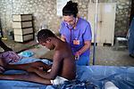 on Thursday, October 28, 2010 in Deschapelles, Haiti.