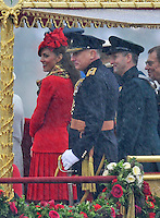 Royals - Thames Diamond Jubilee Pageant - UK