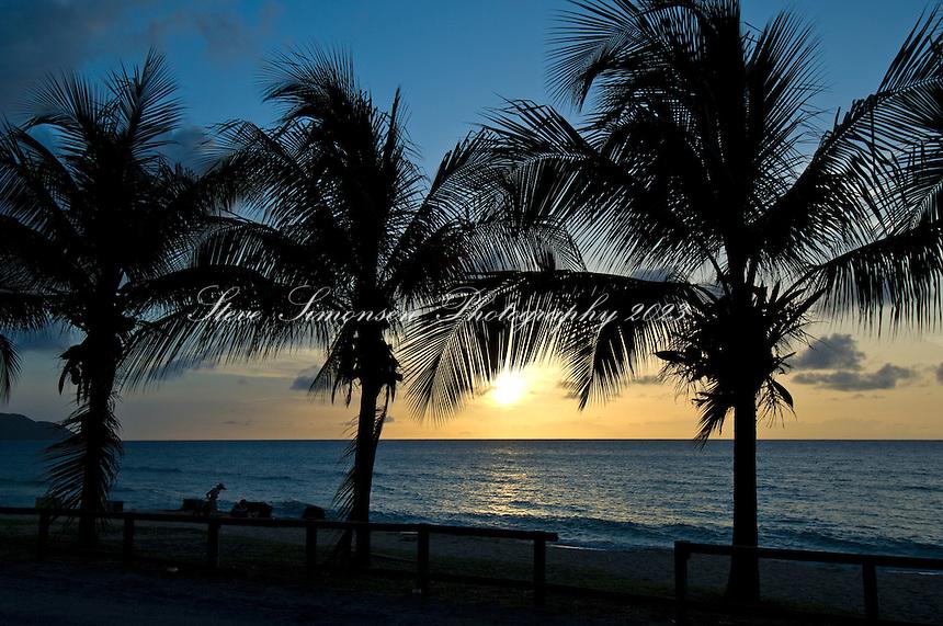 Cane Bay Sunset<br /> St. Croix<br /> U.S. Virgin Islands