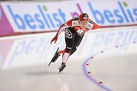SCHAATSEN: CALGARY: Olympic Oval, 09-11-2013, Essent ISU World Cup, 1500m, Kaitlyn McGregor (SUI), ©foto Martin de Jong