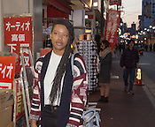 A young lady travelling in Japan.