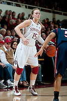 STANFORD, CA - JANUARY 6: Lindy La Rocque at Maples Pavilion, January 6, 2011 in Stanford, California.