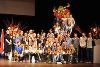 SCHAATSEN: EMMELOORD: Theater 't Voorhuys, 31-01-2015, Viking Race, Internationaal Jeugdtoernooi 11-16 jaar, Winnaars 2015, ©foto Martin de Jong