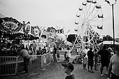 Springfield, Illinois<br /> August 17, 2006<br /> <br /> The kiddie midway at dusk.