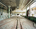 Fisher Body Plant #21, Detroit Michigan, March 19, 2008. Originally built to facilitate Buick and Cadillac body construction in 1921, the building was completely abandoned in 1991.