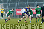 Jason Foley Kerry in action against  Limerick in the Final of the McGrath Cup at the Gaelic Grounds on Sunday.