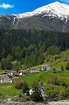 Village properties overlooking Lake Resia / Lake Rechensee Italian/ Austrian border.
