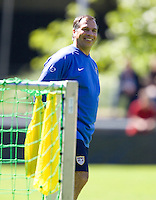 USA head coach Bruce Arena during training in Hamburg, Germany, for the 2006 World Cup, June, 6, 2006.