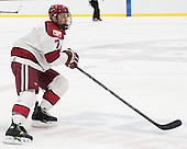Danny Fick (Harvard - 7) - The visiting Brown University Bears defeated the Harvard University Crimson 2-0 on Saturday, February 22, 2014 at the Bright-Landry Hockey Center in Cambridge, Massachusetts.