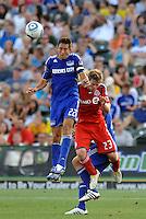 Davy Arnaud #22, Jacob Peterson...Kansas City Wizards defeated Toronto FC 1-0 at Community America Ballpark, Kansas City, Kansas.