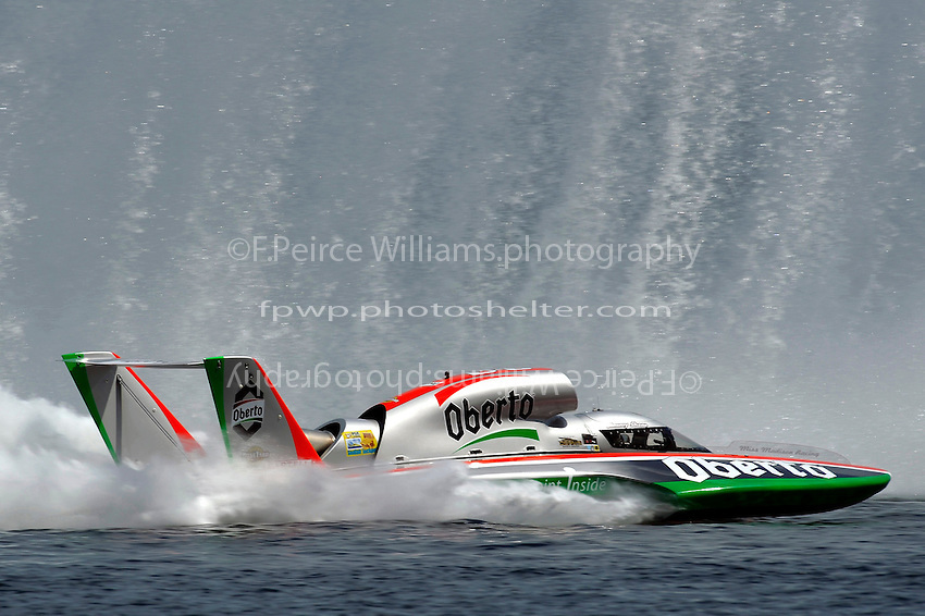 "Jimmy Shane, U-6 ""Oberto""  (Unlimited Hydroplane)"