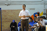 Oxford High coach Drew Tyler vs. New Hope at Oxford High School in high school boys basketball action Oxford, Miss. on Friday, January 6, 2012.