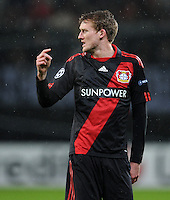 FUSSBALL   CHAMPIONS LEAGUE   SAISON 2011/2012   ACHTELFINALE  Bayer 04 Leverkusen - FC Barcelona              14.02.2012 Andre Schuerrle (Bayer 04 Leverkusen)