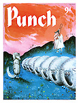 Punch cover 23 July 1958