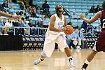 12 December 2012: North Carolina's Tierra Ruffin-Pratt. The University of North Carolina Tar Heels played the North Carolina Central University Eagles at Carmichael Arena in Chapel Hill, North Carolina in an NCAA Division I Women's Basketball game. UNC won the game 49-21.