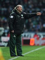 FUSSBALL   1. BUNDESLIGA   SAISON 2011/2012   21. SPIELTAG Werder Bremen - 1899 Hoffenheim                        11.02.2012 Trainer Thomas Schaaf (SV Werder Bremen)