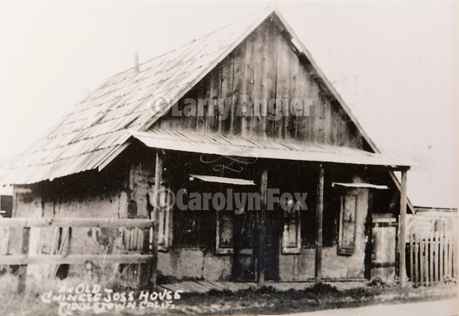 Chew Kee Store (Chinese herb store) once owned by Chinese doctor Chew Kee during the California Gold Rush, then cared for by Jimmy Chow, adopted son until his death in 1965 in the town formally known as Oleta.<br />