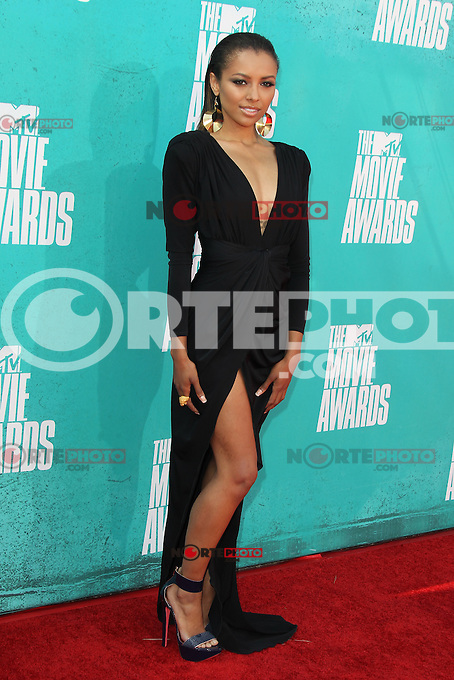 Kat Graham at the 2012 MTV Movie Awards held at Gibson Amphitheatre on June 3, 2012 in Universal City, California. ©mpi29/MediaPunch Inc.