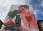 A mural in the Tenderloin district of San Francisco, CA.
