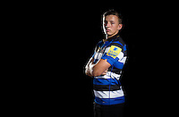 Darren Atkins poses for a portrait at a Bath Rugby photocall. Bath Rugby Media Day on August 24, 2016 at Farleigh House in Bath, England. Photo by: Rogan Thomson / JMP / Onside Images