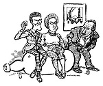 'An' Me wi' a Bad Leg Tae'; David Sands as Peter; Margot Gillies as Jean; Bill Patterson as Bob