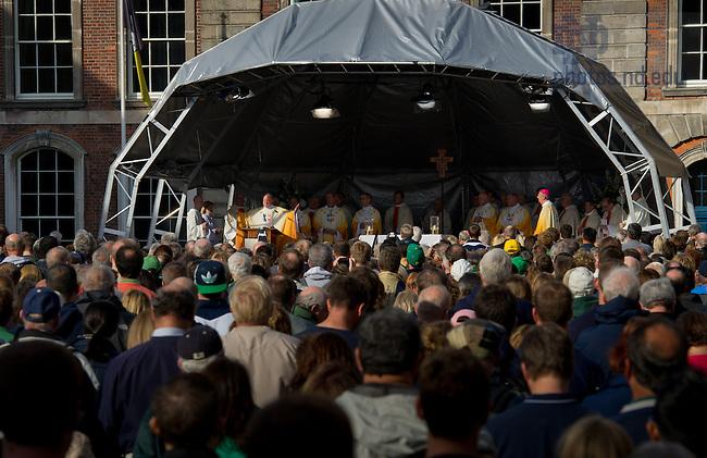 Sep 1, 2012; Mass of Thanksgiving at Dublin Castle.