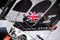 Alex Thomson-Hugo Boss Trans-Atlantic Sailing Record