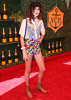 PACIFIC PALISADES, CA, USA - OCTOBER 11: Langley Fox arrives at the 5th Annual Veuve Clicquot Polo Classic held at Will Rogers State Historic Park on October 11, 2014 in Pacific Palisades, California, United States. (Photo by Xavier Collin/Celebrity Monitor)
