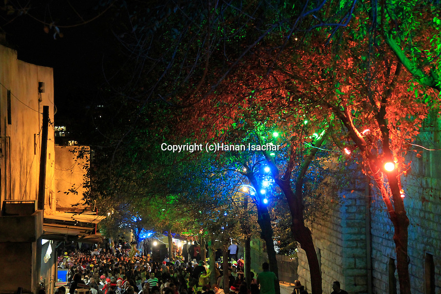Israel, Lower Galilee, Christma in Nazareth