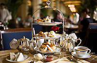 High tea at the Peninsula Hotel, Hong Kong, China