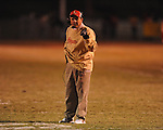 Lafayette High coach Anthony Hart vs. North Pontotoc in high school football playoff action in Oxford, Miss. on Friday, November 5, 2010.