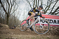 Quinten Hermans (BEL/U23/Telenet-Fidea)<br /> <br /> Men's Race<br /> CX Soudal Classics Leuven/Belgium 2017