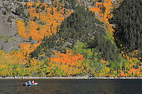 Lake Sabrina Motor Boaters - Fall Color