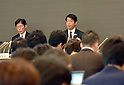 STAP: press conference in Tokyo